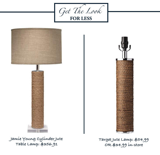 GET-THE-LOOK-FOR-LESS-DICORCIA-DESIGN-JUTE-LAMP-TARGET-JAMIE-YOUNG-CYLINDER