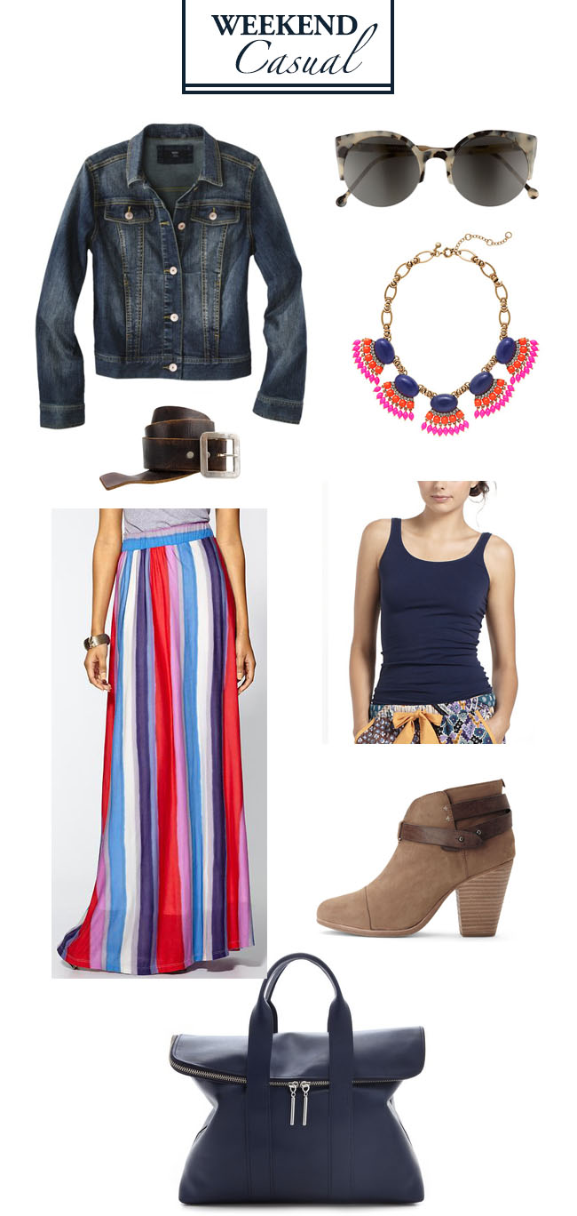 Weekend-Casual-DiCorcia-Interiror-Design-Denim-Jacket-Splendid-Stripe-Skit-Anthropologie-J-Crew-Fan-Fringe-Necklace-Super-Lucia-Sunglasses-Harrow-Boot-Rag-and-Bone-Reversable-Tank-Leather-Belt