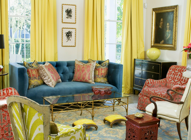 Melissa-Rufty-MMR-Interiors-Living-Room-Malachite-New-Orleans-via-DiCorcia-Interior-Design-