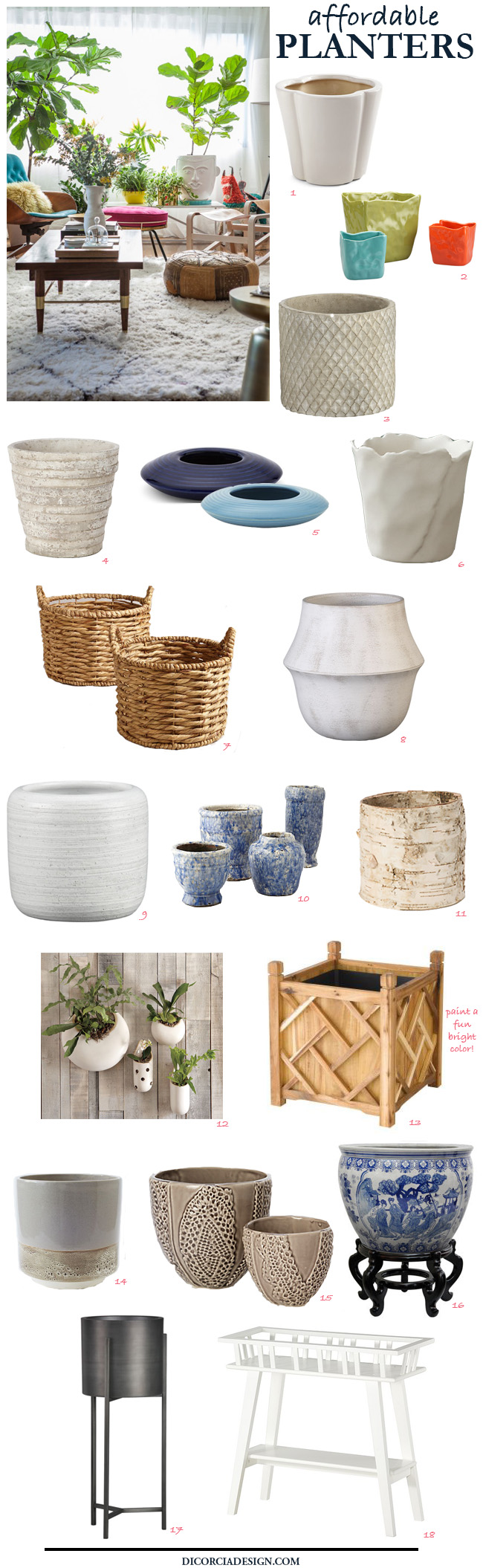 Affordable-Planters-Pots-DiCorcia-Interior-Design