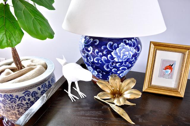 DiCorcia-Interior-Design-Brass-Flower-Ashtray