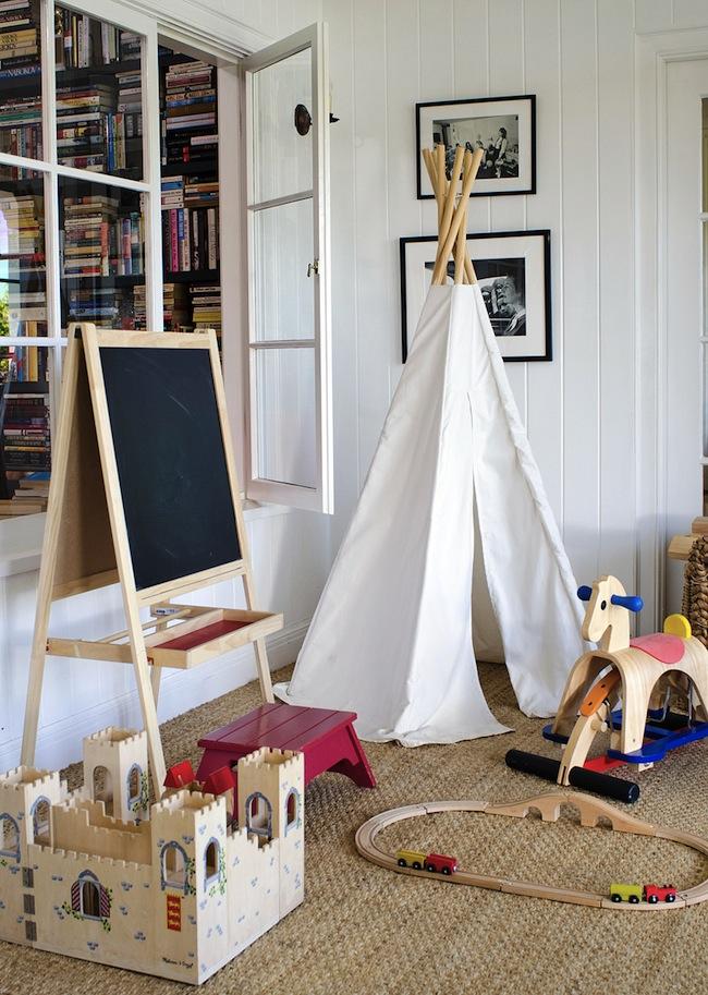 Minnie-Mortimer-Teepee-Kids-Room-DiCorcia-Interior-Design