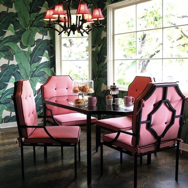 Martinique-Wallpaper-Nicky-Hilton-Kitchen-via-DiCorcia-Interior-Design