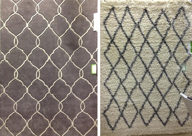Homegoods-Geometric-Flokati-DiCorcia-Interior-Design