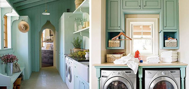Laundry-Rooms-Painted-Green-Cabinets-via-DiCorcia-Interior-Design-NY-NJ