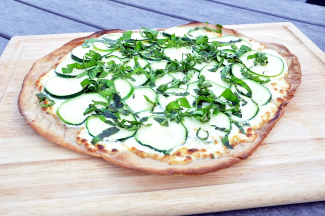 Whole-Wheat-Three-Cheese-Zucchini-Garlic-Pizza