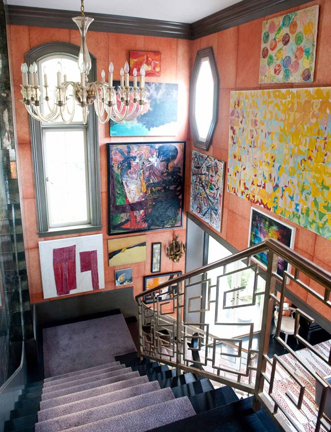 Kelly-Wreastler-Gallery-Wall-Staircase