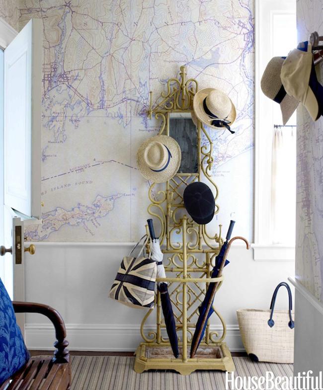 Tom-Scheerer-Foyer-Map-Wallpaper-via-DiCorcia-Interior-Design