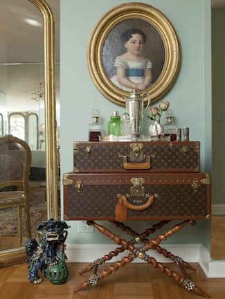 Elizabeth-Bauer-Louis-Vuitton-Trunks-via-DiCorcia-Interior-Design-NY-NJ