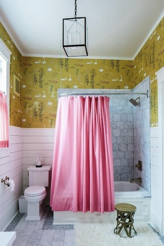 Natalie-Clayman-Bathroom-Nina-Campbell-Swan-Lake-Wallpaper-via-DiCorcia-Interior-Design-NY-NJ