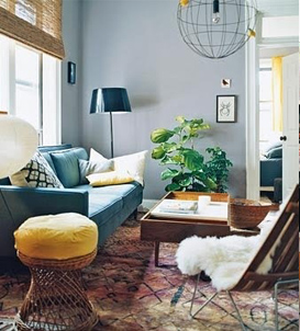 Sheepskin-Throw-Draped-Over-Chair-Living-Room-via-DiCorcia-Interior-Design-NY-NJ
