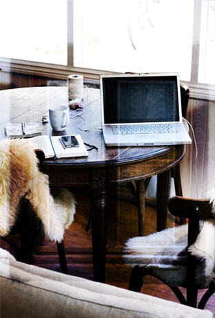 Sheepskin-Throws-On-Chairs-Fall-Winter-Office-DiCorcia-Interior-Design-NY-NJ