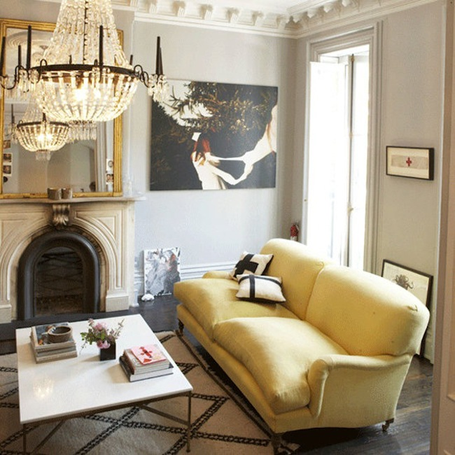 Style Profile The Yellow Sofa Dicorcia Design