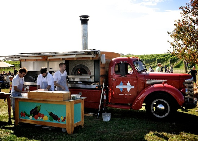 Wölffer-Estate-Vineyard-Harvest-Party-Rolling-In-Dough-Pizza-Truck-via-DiCorcia-Interior-Design-NY-NJ