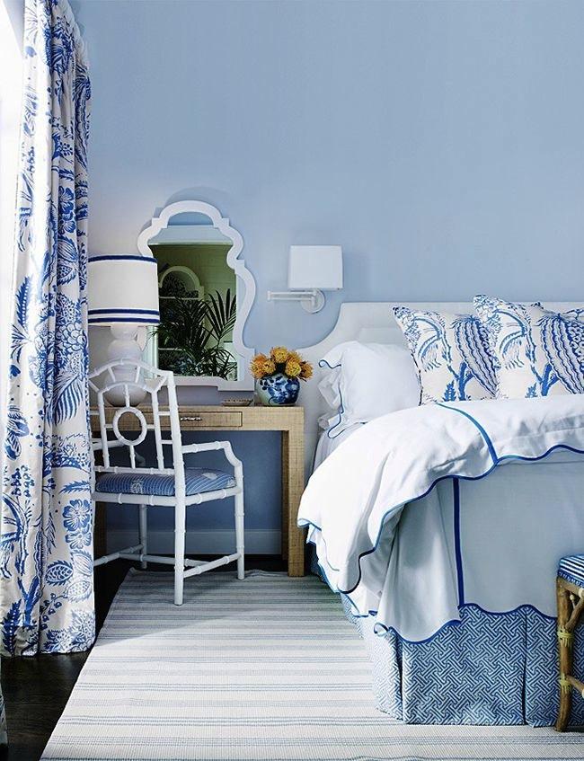 Graphic-Pattern-Bedskirt-via-DiCorcia-Interior-Design-NY-NJ