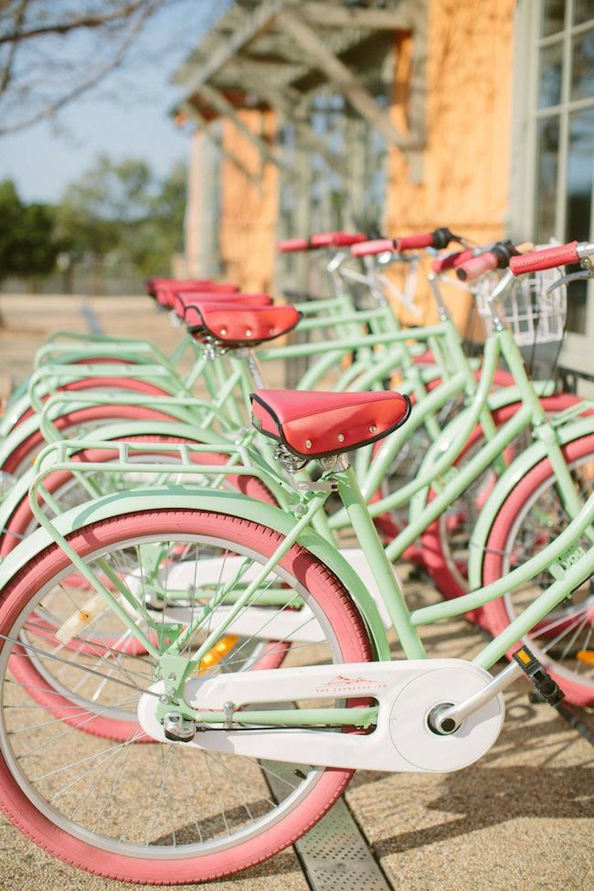 Mint-and-Pink-Bikes-via-DiCorcia-Interior-Design-NY-NJ