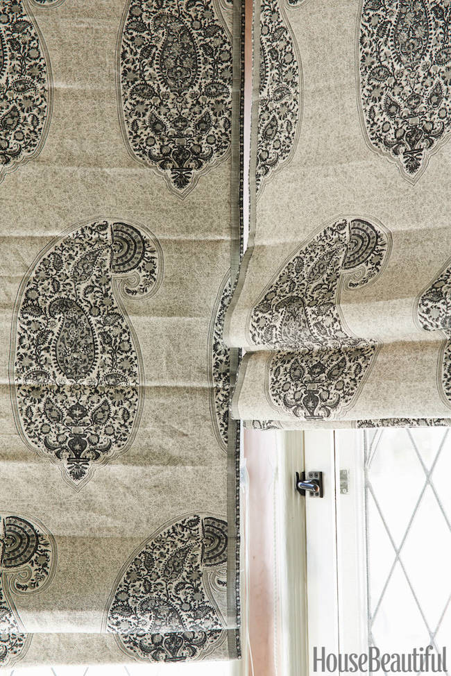 Custom-Peter-Dunham-Isfahan-fabric-Roman-shades-via-DiCorcia-Interior-Design-NY-NJ