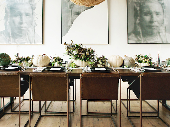 Fall-Halloween-Thanksgiving-table-setting-via-DiCorcia-Interior-Design-NY-NJ